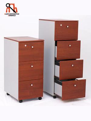 classeur 2 ou 3 ou 4 tiroirs pvc badri distribution g n rale. Black Bedroom Furniture Sets. Home Design Ideas